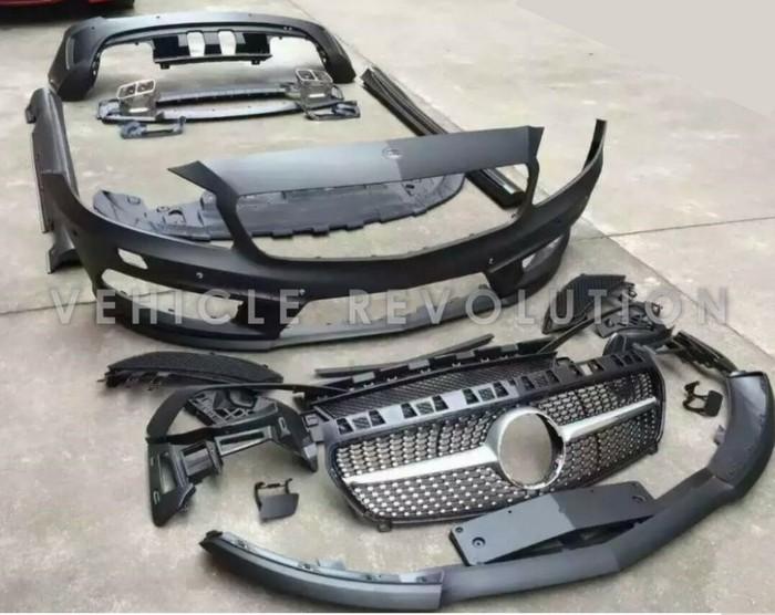 Mercedes Benz W176 Amg Style Body Kit Upgrade 2013 2015