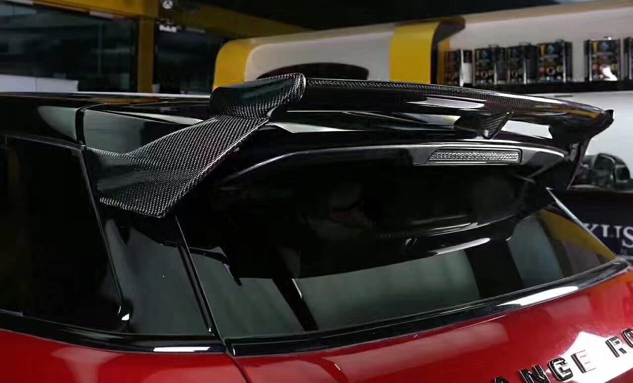 Deployed Side Steps For Range Rover Genuine Accessory: Land Rover Range Rover Evoque Revolution Genuine Black