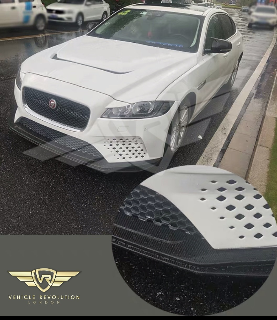 Jaguar Xf X260: JAGUAR XF X260 PROJECT 8 STYLE FRONT BUMPER UPGRADE FOR