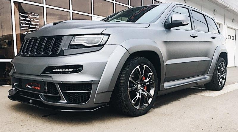 Renegade Tyrannos Jeep Grand Cherokee Wk2 V2 Body Kit