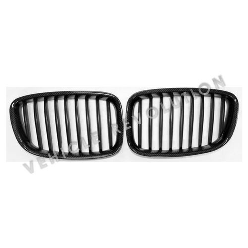 2017 Bmw 6 Series Gt Vs Bmw 5 Series Gt Interior Dashboard: BMW 5 Series GT F07 Carbon Fiber Front Grill 2010-2016