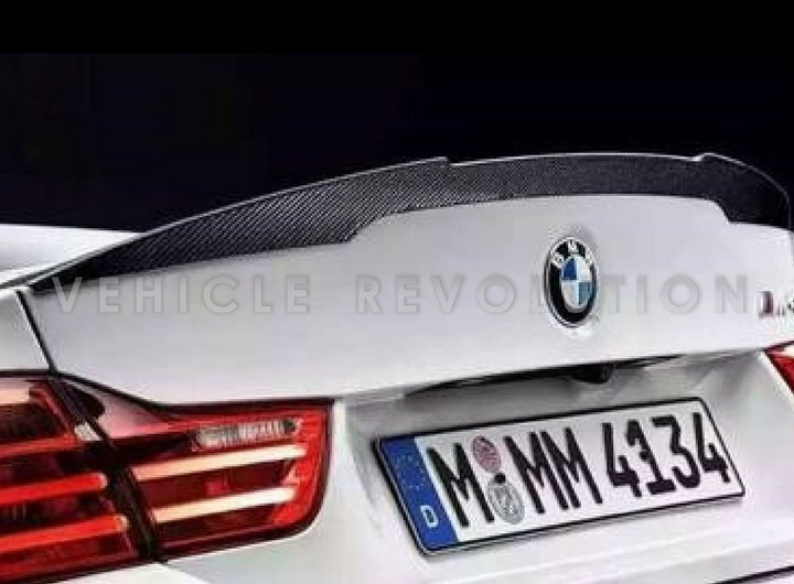 bmw f82 m4 m performance carbon fiber rear spoiler 2014 2015. Black Bedroom Furniture Sets. Home Design Ideas