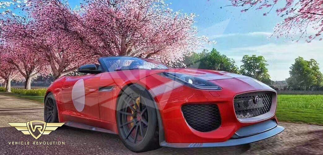 Project 7 F-type bumper