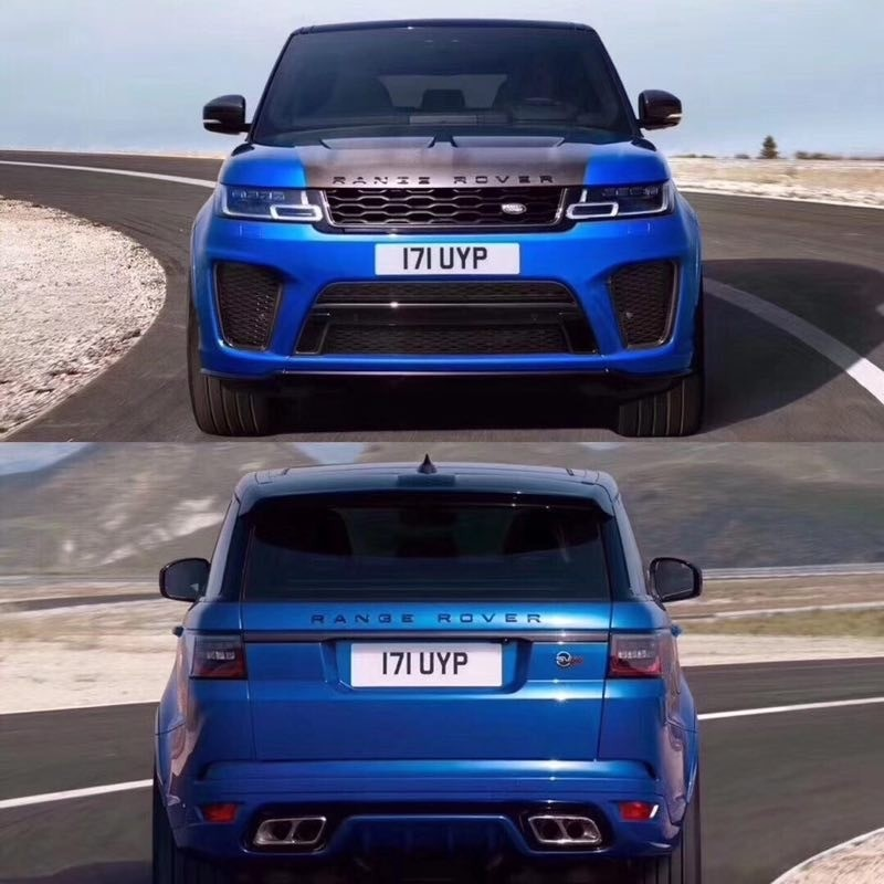 Range Rover Sport L494 Facelift Bodykit Upgrade Conversion to latest 2018+ SVR style from old
