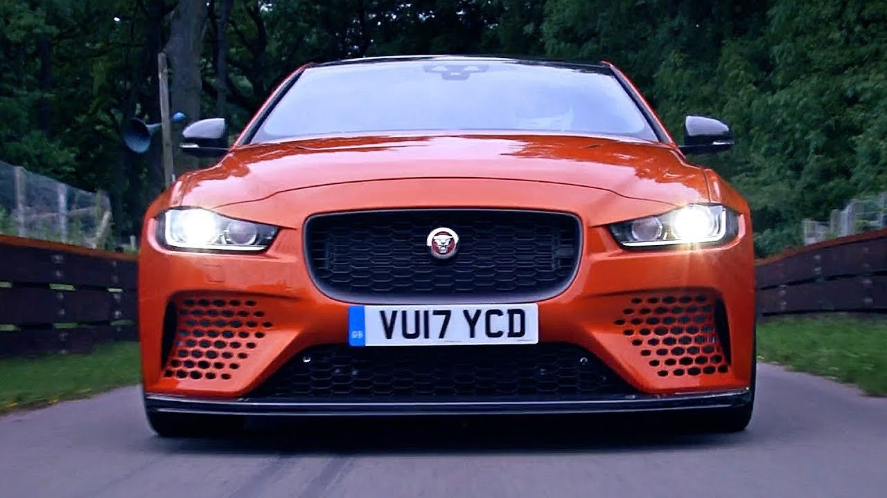 JAGUAR XE PROJECT 8 STYLE FRONT BUMPER UPGRADE FOR ALL MODELS 2016 2017 2018 2019
