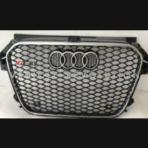 Audi  A1 RS1  Black Grille, Chrome Frame, Chrome Rings 2013 2014 2015