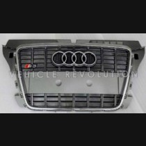 Audi A3 S3  Grey Grille, Chrome Frame, Chrome Rings 2010 2011 2012