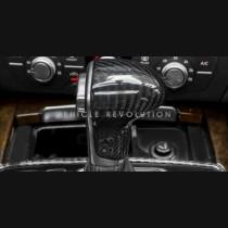Audi A4 A5 A6 A7 Q5 Dry Carbon Fiber Decorative Gear Knob Cover 2016 2017
