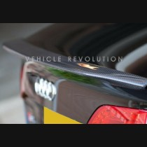 Audi A4 B8.5 Carbon Spoiler Caractere Style 2013 2014 2015 2016
