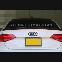 Audi A4 B8 Carbon Spoiler Style 2008 2009 2010 2011 2012