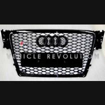 Audi  A4 RS4  Black Grille, Black Frame, Black Rings 2010 2011 2012 2013