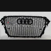 Audi  A4 RS4  Black Grille, Black Frame, Black Rings  2013 2014 2015 2016 2017