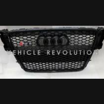 Audi  A5 RS5  Black Grille, Black Frame, Black  Rings 2012 2013 2014 2015