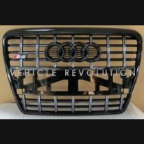 Audi  A6 S6  Black Grille, Black Frame, Black Rings 2010 2011