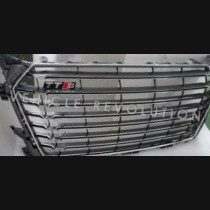 Audi TTS  Grey Grille, Chrome Frame, Without PDC 2013 2014 2015