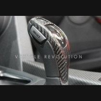 BMW 1 2 3 4 5 6 7 Series Dry Carbon Fiber Decorative Gear Knob Cover (High Version) 2012 2013 2014 2015 2016 2017