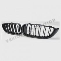 BMW 4 Series F32 F33 F36 F80 F82 F83 Carbon Fiber Double Slat Front Grill 2013-2016