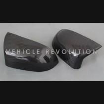 BMW X5M F85 X6M F86 Carbon Fiber Add On Mirror Covers 2010-2015