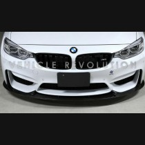 BMW F8x M3 M4 Carbon Fiber Front Lip 3D-Design 2014 2015