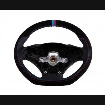 BMW 3 Series (F30/F35) Carbon Black Steering Wheel 2013+ With Perforated Buck Leather Grip