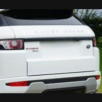 Range Rover Evoque Carbon Fiber Tailgate Trim Cover 2011-2017