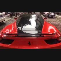 Ferrari 458 Carbon Fiber Novitec Style Trunk Boot Wing Spoiler 2006-2015