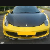 Ferrari 458 Italia Carbon Fibre Hood Bonnet for 2010 - 2015 models