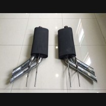 Mercedes-Benz Brabus G65 800 Black Muffler Exhaust Pipe 2016