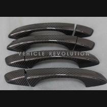 VW Golf 7 Dry Carbon Fiber Exterior Door Handle Covers 2013 - 2017