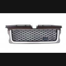 Range Rover Sport Grey Black Silver Autobiography Style Front Grille Side Vent 2005 -2009