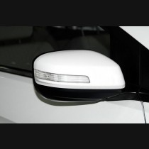 Honda City Carbon Fiber Mirror Covers With LED  Replacement 2009-2014