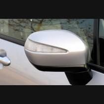 Honda Odyssey Carbon Fiber Mirror Covers With LED  Replacement 2009-2013