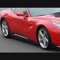 Ferrari F12 Carbon Fiber DM Style Side Skirt  2012-2017