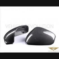 Maserati Granturismo Dry Carbon Fibre Replacement Mirror Covers 2006 - 2017