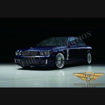 Jaguar XJ X350 X358 Black Bison Body Kit Upgrade Conversion for 04 - 09 Models