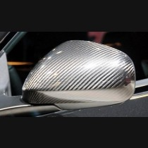 Maserati Granturismo GT MC Sport Carbon Fibre Mirror Cover Add On Caps 2007 - 2013