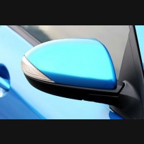 Mazda 2 2009-2014 With LED / Mazda 3 2009-2013 With Led Carbon Fiber Mirror Cover Replacement  2009-2014