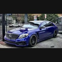 Mercedes Benz AMG S Class W222 Full Black Bison Edition Body Kit Upgrade 2013+