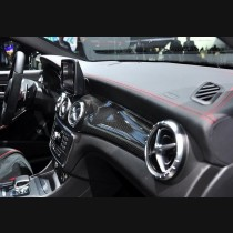 Mercedes-Benz CLA & GLA Carbon Fiber Dashboard Trim 2014-2017
