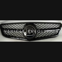 Mercedes-Benz Change To Black Frame Brabus Grille 2013 2014