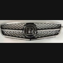 Mercedes-Benz Change To Chrome Frame Brabus Grille  2013 2014