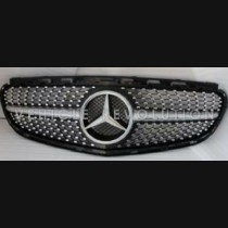 Mercedes-Benz E Class W212  Grille Without Camera Hole 2013 2014 2015 2016 2017