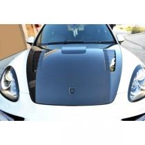 Porsche Cayenne 958 Carbon Fibre Stingray style Front Bonnet Hood 2010 - 2014