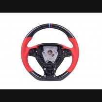 BMW 3 Series (F30/F35) Carbon Red Sport Steering Wheel With Perforated Leather Grip 2013+