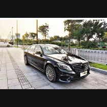 Mercedes Benz W222 AMG Style Body kit Upgrade 2014-2017