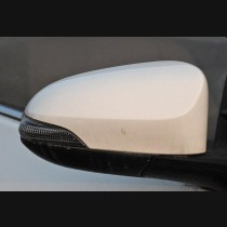 Toyota Corolla Vios Camry With LED Carbon Fiber  Mirror Cover Add On 2014-2017