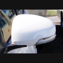 Toyota Reiz | Mark X Prius Carbon Fiber Mirror Cover Add On 2010-2013